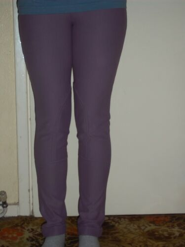 "was £34.00 Horse Riding Jodhpurs Micro Cord Stretch size 24/"" Purple SALE"