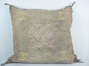 Moroccan-Cactus-Silk-Home-Hand-Loomed-Vegan-Cushion-FREE-GIVE-AWAY-Term-Applied