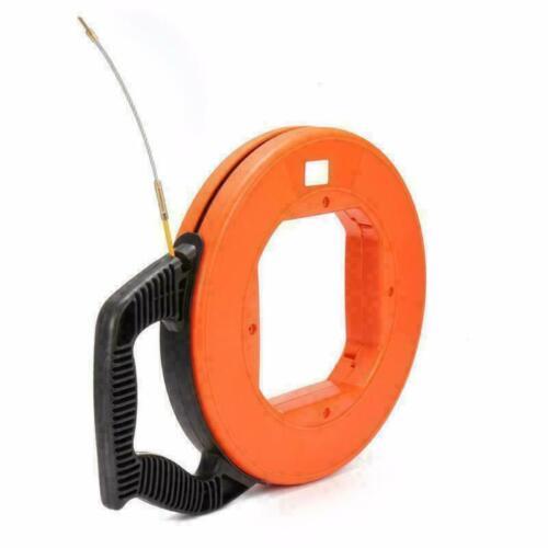 30M 4mm Fibre de Verre Fiberglass Extracteurs de Câbles Aide à la traction