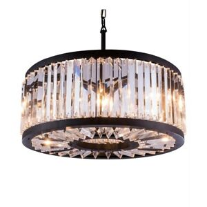 Light Pendant With Crystal Trim