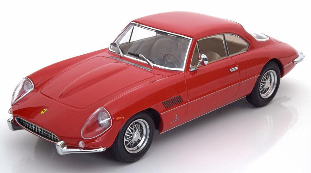 Spedizione gratuita al 100% KK SCALE SCALE SCALE modelloS 1962 Ferrari 400 Superamerica rosso LE of 2500 pcs 1 18nuovo   memorizzare