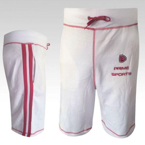 Primo MMA Professionale Boxe PC Pantaloncini Bottoms Mens Sports UFC Palestra PANTS CORTO BIANCO NUOVO