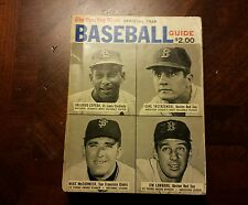 1968 Sporting News Baseball Media Guide Carl Yastrzemski Boston Red Sox Cover