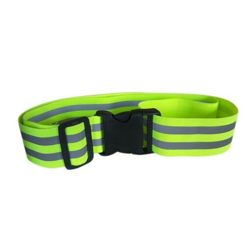 High Safety Visibility Reflective Security Belt For Night Running Walking Biking