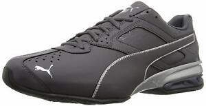 Da-Uomo-Puma-Tazon-6-frattura-FM-Sneaker-basse-lacci-periscopio-Puma-Argento-Taglia-9-5-8