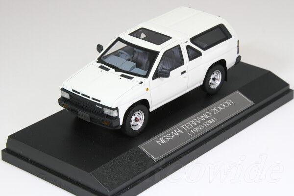 Hi-Story 1/43 Nissan Terrano 2 puerta 2018 R3M Blanco HS050 WH