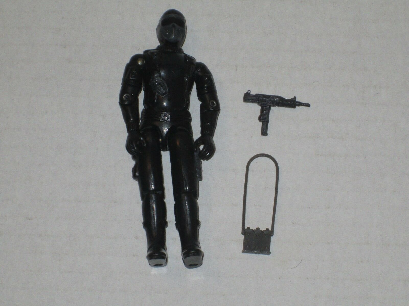 GI Joe UK Action Force Snake Eyes 100% Complete Great Condition