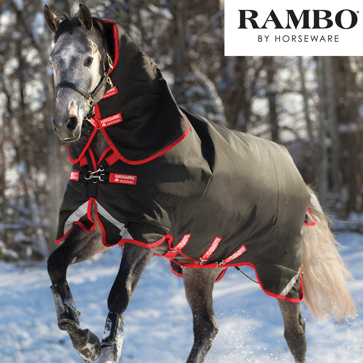 Horseware Rambo Rambo Horseware Supreme Heavyweight Turnout with Vari-Layer (450g) bed7be