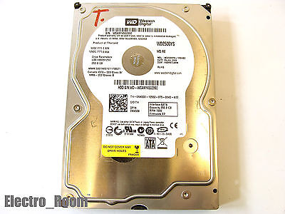 "*2-LOT* WD 250gb Western Digital Hard Drive 16MB 7200rpm SATA 3.5/"" WD2500YS"