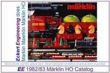 EE 1982/83 NL EXC Marklin HO Catalog Years 1982 1983 3 Scales  EXC Condition