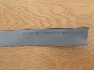 HIGH-DENSITY-RIBBON-CABLE-AWG30-0-64mm-PITCH-40-WAY-1-or-5-metres-H438