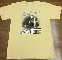 Jerry Lee Lewis - Piano - Officially Licensed Sun Records Tee - Light Yellow