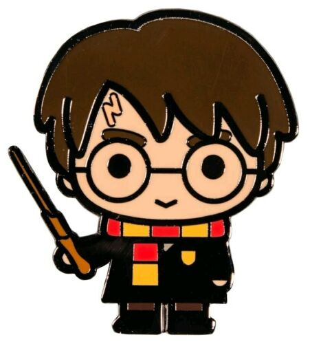 Harry Potter Chibi Enamel Pin-IKO1536-IKON COLLECTABLES Harry Potter