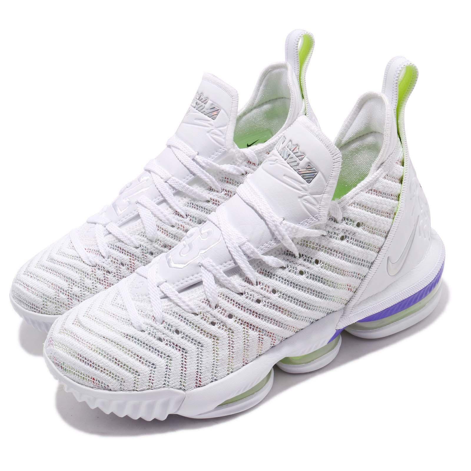 Nike Lebron XVI EP 16 Buzz Lightyear James White Men Basketball shoes AO2595-102