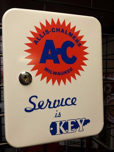 ALLIS CHALMERS AC TRACTOR NOSTALGIC ADVERTISING KEY BOX
