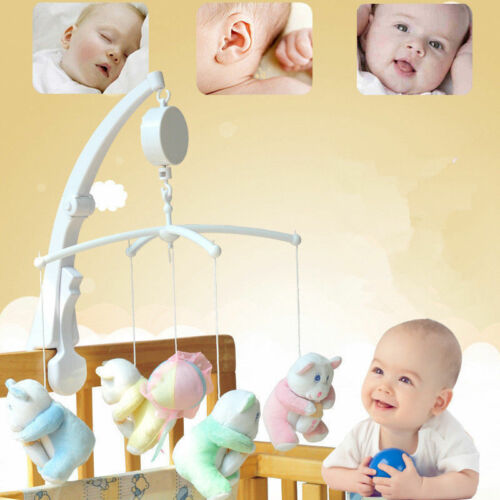 Rotary Baby Mobile Crib Bed Toy Clockwork Movement Music Box-You Are My Sunshine