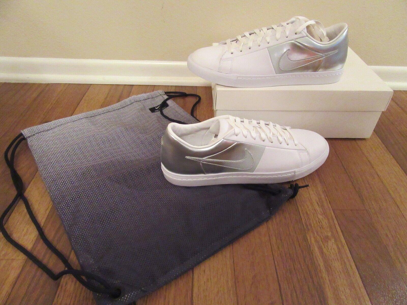 Nike Blazer Low SP   Pedro Lourenco Size 11.5 White Chrome 718798 100 Brand New