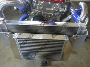 Image Is Loading Cx Intercooler Radiator Bracket Kit For Nissan Datsun
