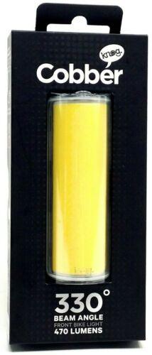 Knog Big Cobber Front USB LEDBicycle Light 280 Lumen