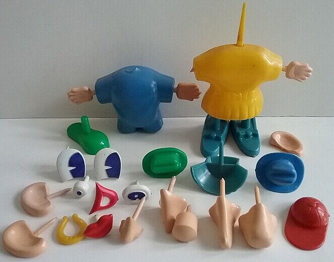 Mr Potato Head 1953 Hasbro Juego piezas para el señor & Mrs. Potato Head 27 piezas