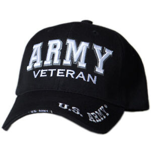 ac96729c73227 Image is loading US-Honor-Official-Embroidered-Veteran-Shadow-Army-Baseball-