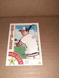 1984 Topps #400 Cal Ripken All-Star Baltimore Orioles HOF vintage BASEBALL