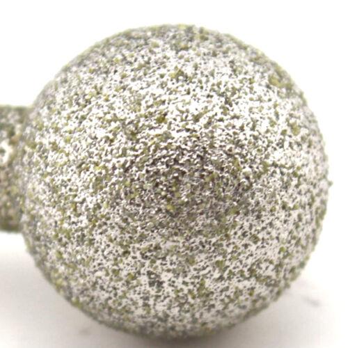 """Diamond Coated 15 mm 9//16/"""" Boule Monté points Meulage peu Ballon Rond"""