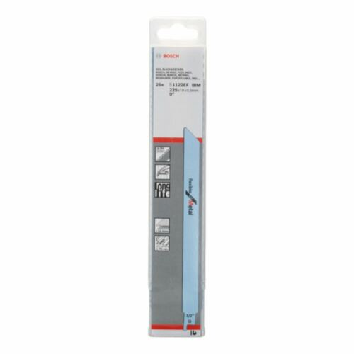 BOSCH 25 pièce sabre lame de scie S 1122 EF Flexible for Metal