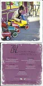 CD-CARTONNE-CARDSLEEVE-COLLECTOR-1T-ZAZ-LE-LONG-DE-LA-ROUTE-RAPHAEL-NEUF-SCELL