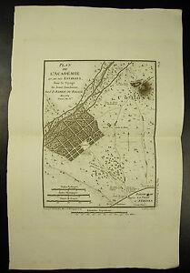 Karte-von-Akademie-amp-Seine-Umgebung-Academy-C-1790-J-D-Barbie-des-Hains-Map