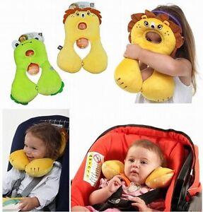 Baby Children Head Neck Support Headrest Travel Car Seat Pillow ...