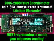 Rebuilt instrument cluster combination meter speedometer Toyota Prius 06-09 161k