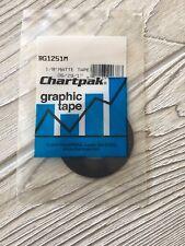 Chartpak Tape Bg1871M Black 3//16In X 324In Ro