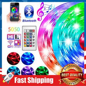 LED Strip Lights RGB Room Lights 5050 Tape Lights Color Changing 16.4ft,32.8ft
