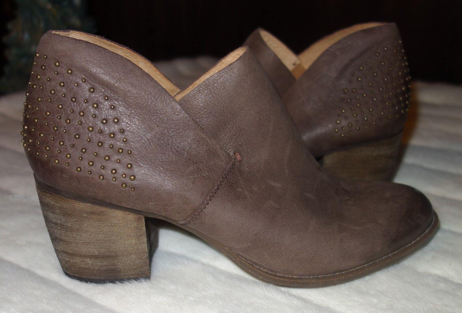 Naya Naya Naya  Valerie  botas De Cuero Con Tachas Botines Talla 11 M Nuevo  alta calidad general