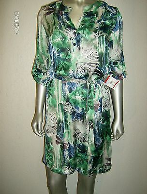 65% OFF MSRP $89 Kasper Casual Floral Shift Dress sz XS MDFE