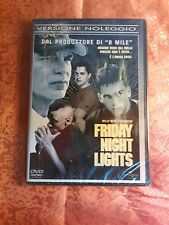 FILM-DVD- FRIDAY NIGHT LIGHTS BILLY BOB THORNTON VERSIONE NOLEGGIO