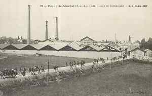 71-cpa-PARAY-LE-MONIAL-Les-usines-de-ceramique