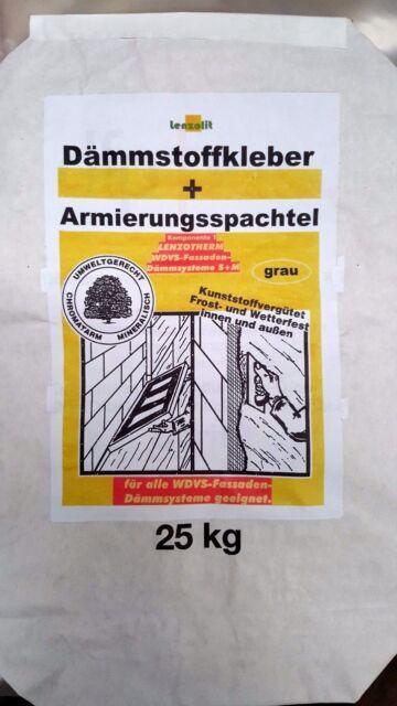 Armierungskleber Armierungsmörtel WDVS Kleber faserarmiert für 120 qm + Gewebe