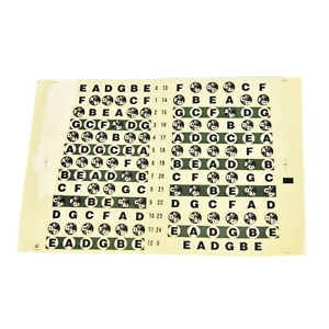 Guitar-Neck-Fretboard-Note-Map-Fret-Sticker-Lables-Decals-Learn-FingerboardPG