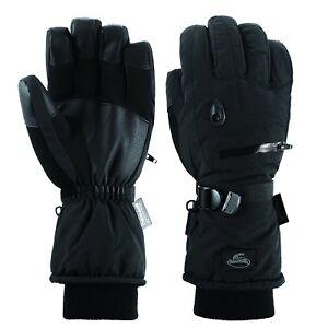 Men-Black-Waterproof-Thinsulate-Ski-Snowboard-Gloves-Winter-Warm-Gloves-S-M-L-X