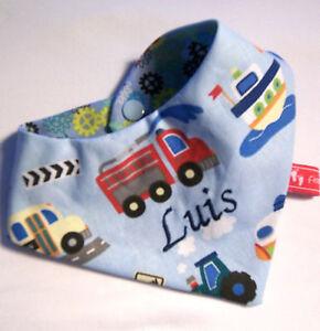 Baby Baby-halstuch Kinderhalstuch Sabberschutz Fahrzeuge,feuerwehr F&f Jungentuch Kleidung, Schuhe & Accessoires