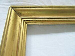 ANTIQUE-FITS-10-X-17-Lemon-GOLD-GILT-PICTURE-FRAME-ORNATE-WOOD-FINE-ART-COUNTRY