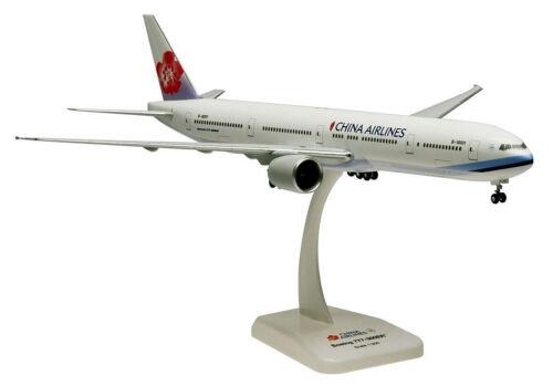 China Airlines Boeing 777-300ER 1:200 Hogan 0045 Flugzeug Modell B777 NEU
