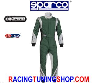 TUTA-SPARCO-EAGLE-RS8-1-TG-52-HOCOTEX-RACING-SUIT-FIA-8856-2000-GREEN