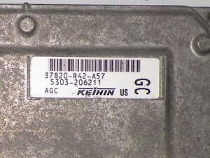 08-10-ACCORD-2-4L-COMPUTER-37820-R42-A57-ENGINE-CONTROL-ECU-ECM-MODULE