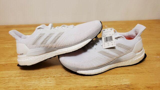 NEW Adidas Solar Boost 19 Mens size 8.5 white/orange running shoes