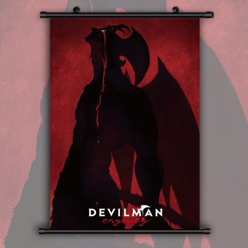 DEVILMAN crybaby HD Print Anime  Wall Poster Scroll Room Decor