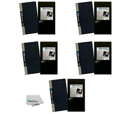 Itoya Slim Profolio 4x6 Photo Album 5 Pack With Photos Protective Sleeve OL-120