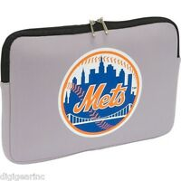 Ny Mets Mlb Laptop Sleeve Case Bag 15.6 For Notebook Pc & Macbook Pro